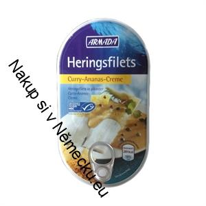 Heringsfilet Curry-Ananas-creme 200g