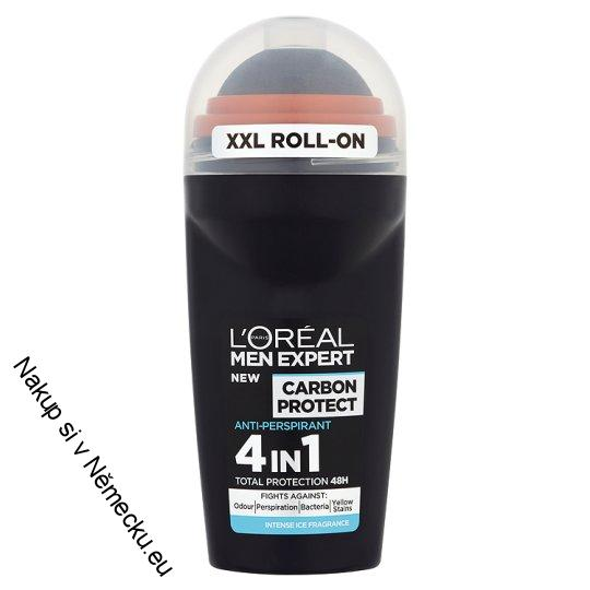L'Oreal Men Expert Roll-On Carbon Protect Deodorant 50Ml