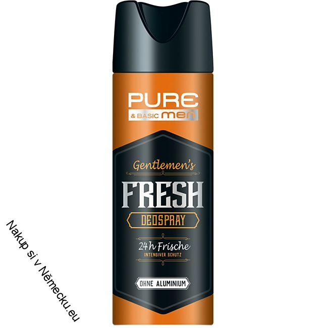 Pure & Basic muži Deospray Gentlememens Fresh