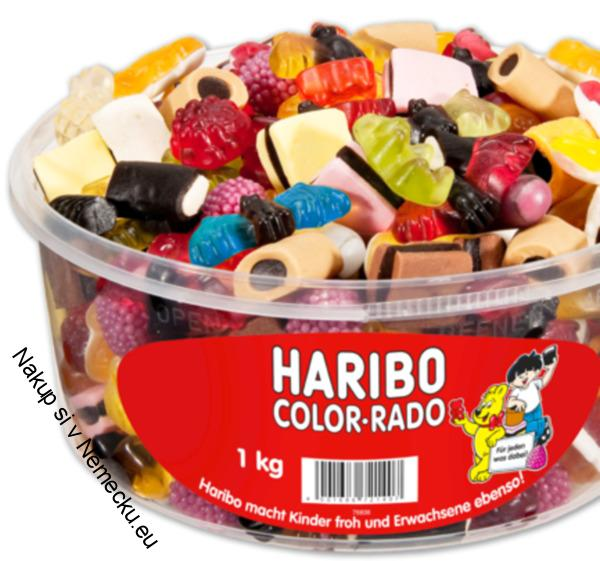 Haribo Color-rado box 1kg