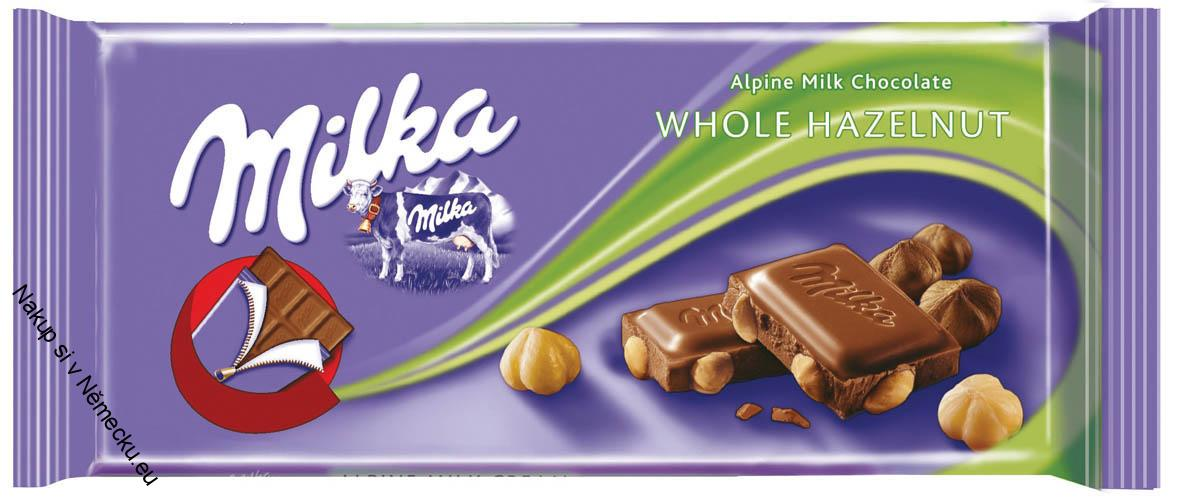 Milka Whole Hazelnut 100 g