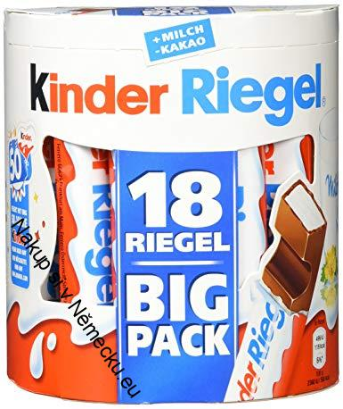 KINDER RIEGEL BIG PACK 18X21G