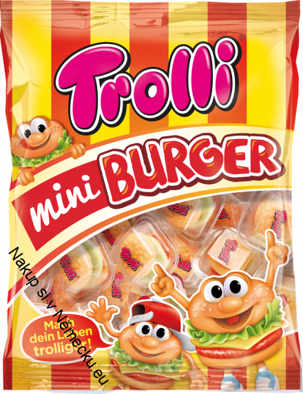 Trolli Mini Burger, 170g