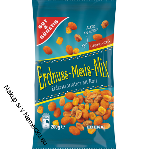 Erdnuss-Mais-Mix 200g arašídovo-kukuřičný mix