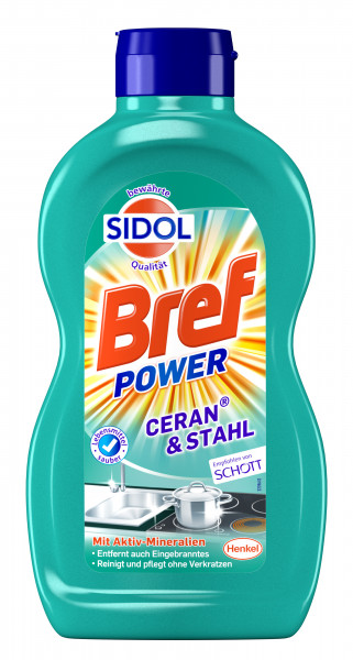 BREF Sidol Steel & Ceran 500 ml