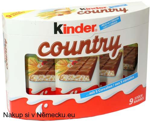 Kinder Country 9.ks x 23,5g