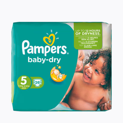 Pampers® Baby-Dry 11-25.kg