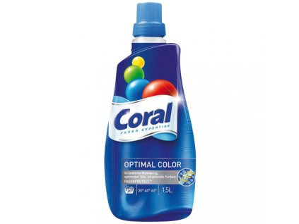 CORAL GEL NA PRANÍ OPTIMAL COLOR 20 PRACÍCH CYKLŮ