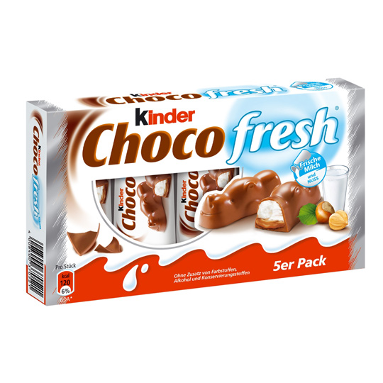 Kinder Schoko fresh 5.ks