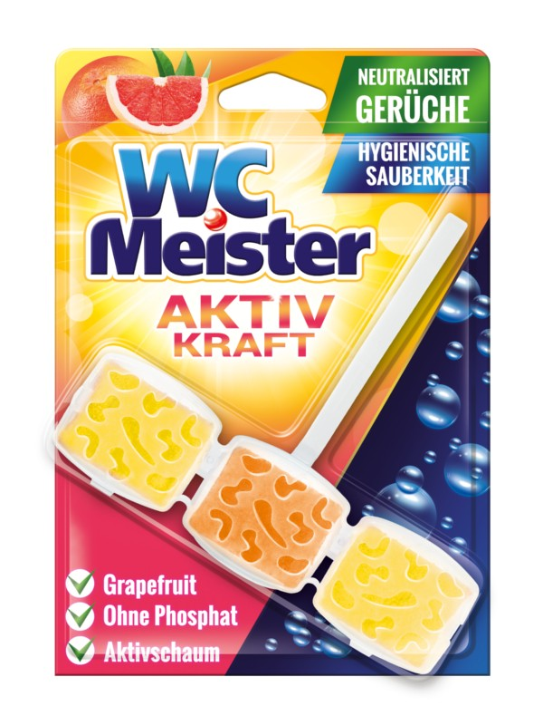 WC MEISTER Grepfruit závěska do wc 45 g