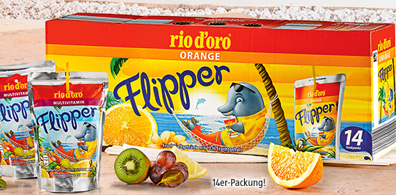 FLIPPER Orange Balení  14 ks