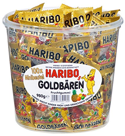 Haribo Golden medvídci mini 100x10g