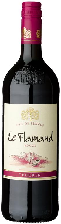 Le Flamand Rouge Vin de France, trocken, 1,0 L
