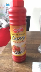 Altenburger Land Gewürz-Ketchup Curry Extra Scharf 875 ml