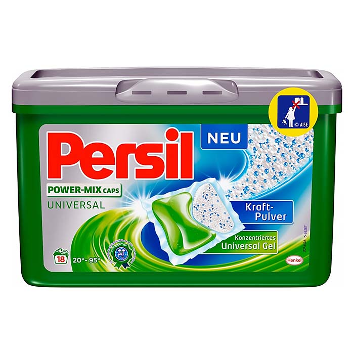 PERSIL POWER-MIX CAPS UNIVERSAL 18KS