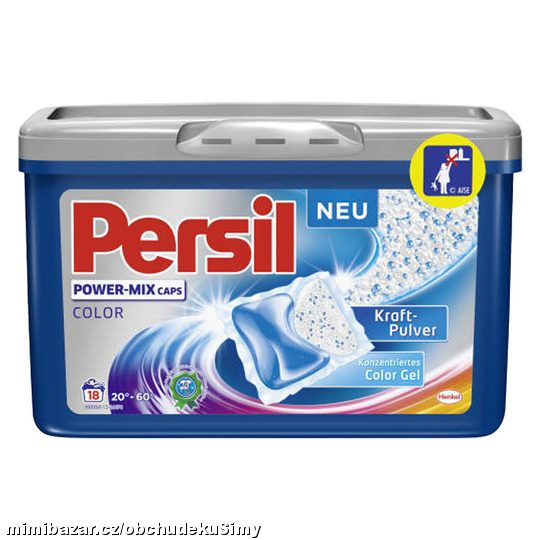 Persil POWER-MIX Caps color 18 ks