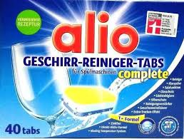 Alio Geschirr-Reiniger-Tabs All-In-One 40 tablet