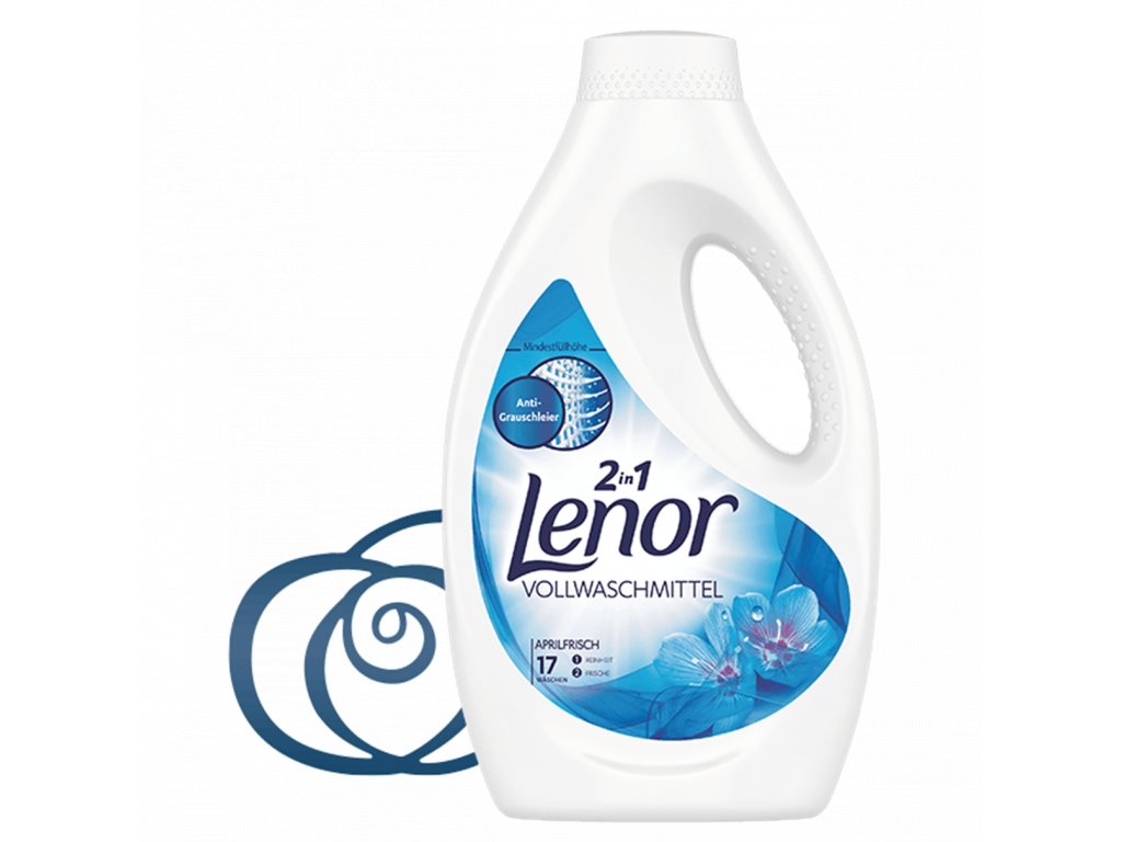 PRACÍ GEL LENOR 2IN1 - APRILFRISCH 935 ML