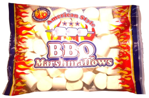 American style bbq marshmallows 300g