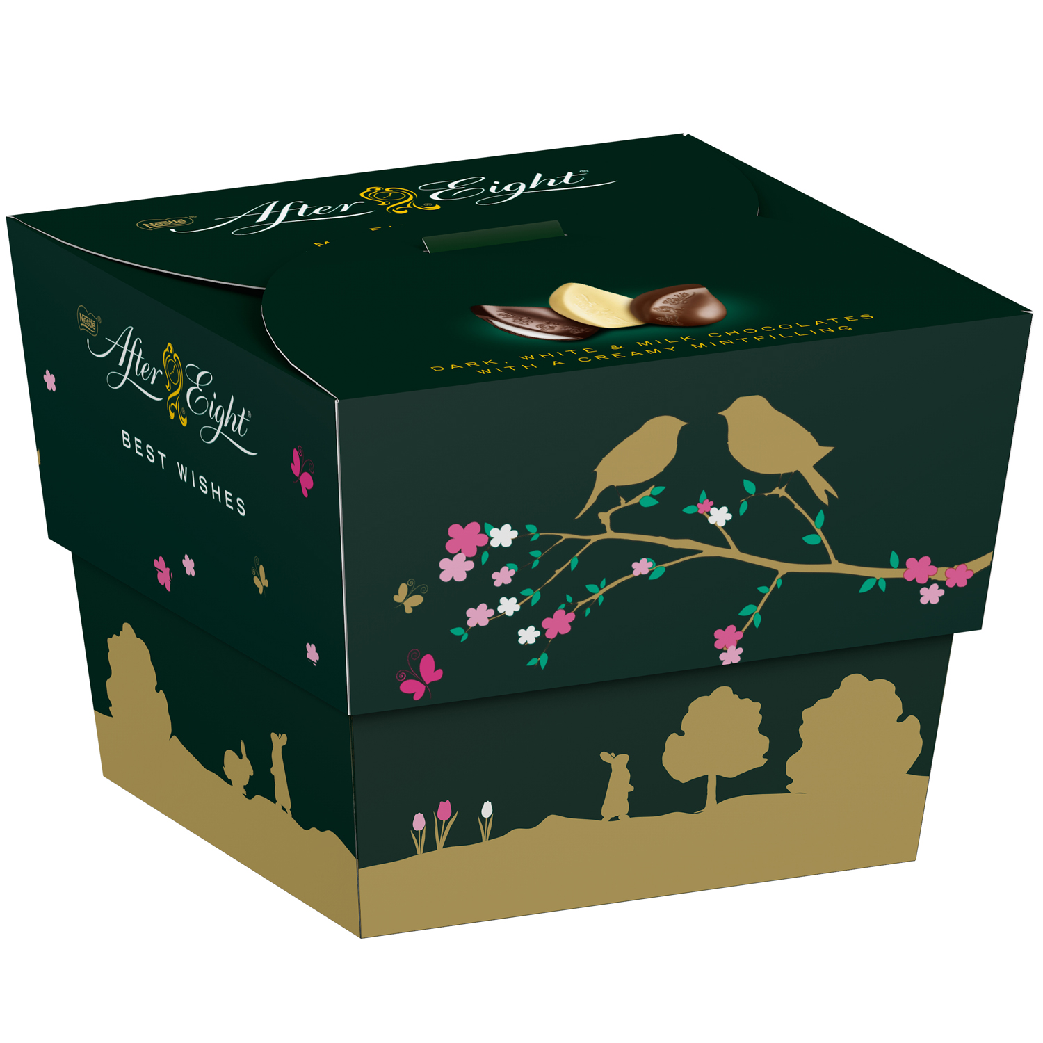 After Eight Finest Mint Pralines 81g 12 pralinek