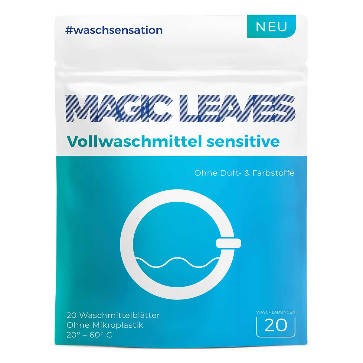MAGIC LEAVES Vollwaschmittel sensitive Revoluce v pračce! 20 dávek