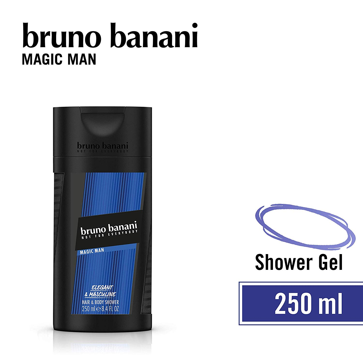 Bruno Banani Magic Man - sprchový gel 250 ml