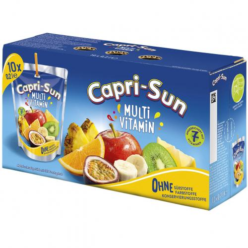 CAPRI-SONNE MULTIVITAMIN 10KS vegan