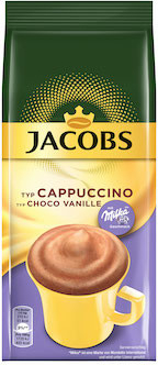 Jacobs Cappuccino Milka Choco Vanille 500 g