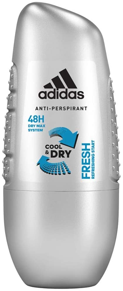 ADIDAS COOL AND DRY FRESH ANTIPERSPIRANT ROLL-ON FOR MEN 50ML