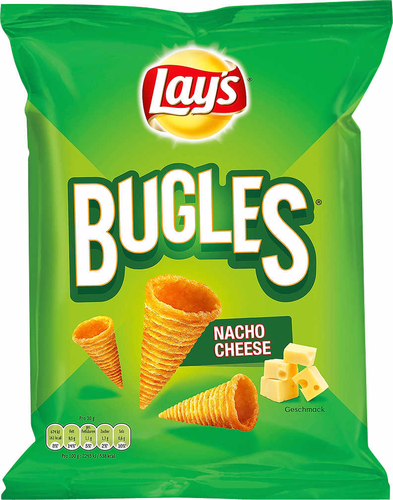Lay´s Bugles Nacho Cheese 100g
