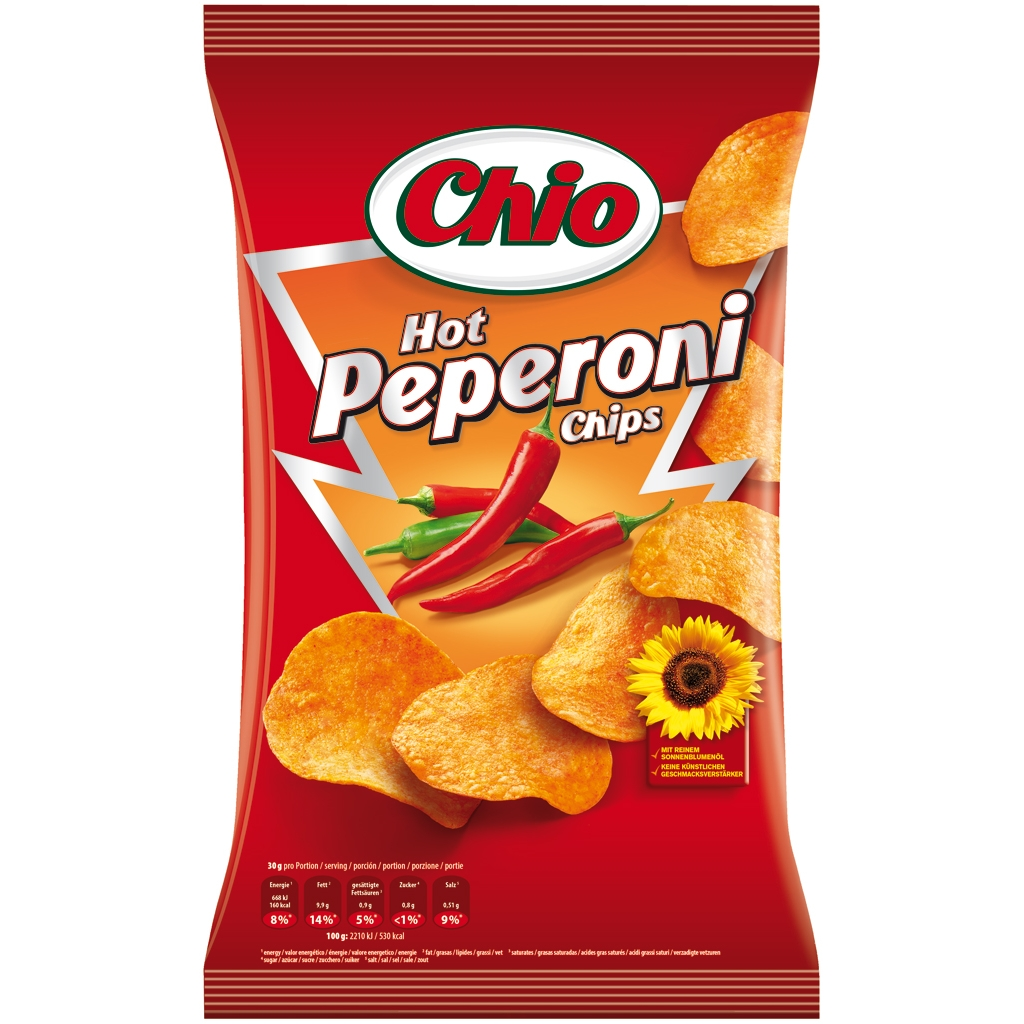 Chio Chips Hot Peperoni 175g