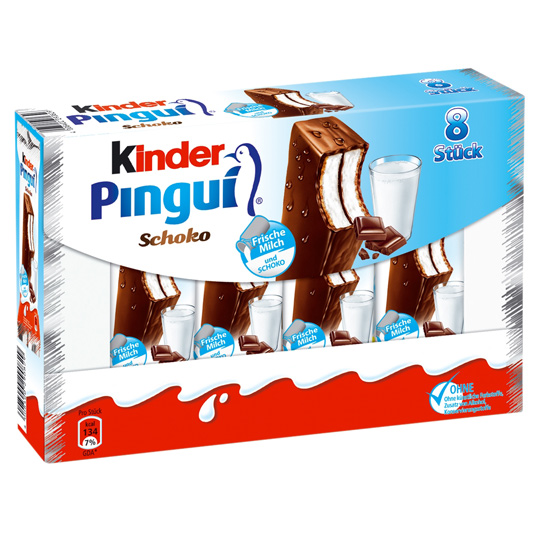 Kinder Pingui 8.ks
