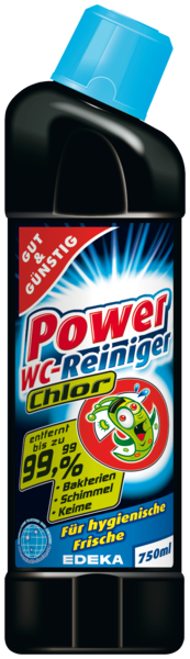 Power-WC-Reiniger s Chlórem 750ml