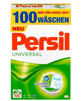 Persil Universal kalt aktiv 6,5 Kg - 100 dávek (Persil Universal kalt aktiv 6,5 Kg - 100 dávek)