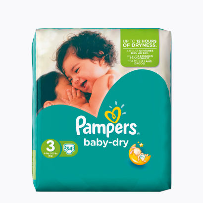 Pampers® Baby-Dry 4-9.kg (Pampers® Baby-Dry 4-9.kg)
