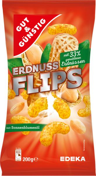 Erdnuss-Flips - ARAŠÍDOVÉ KŘUPKY 200G (Erdnuss-Flips - ARAŠÍDOVÉ KŘUPKY 200G)