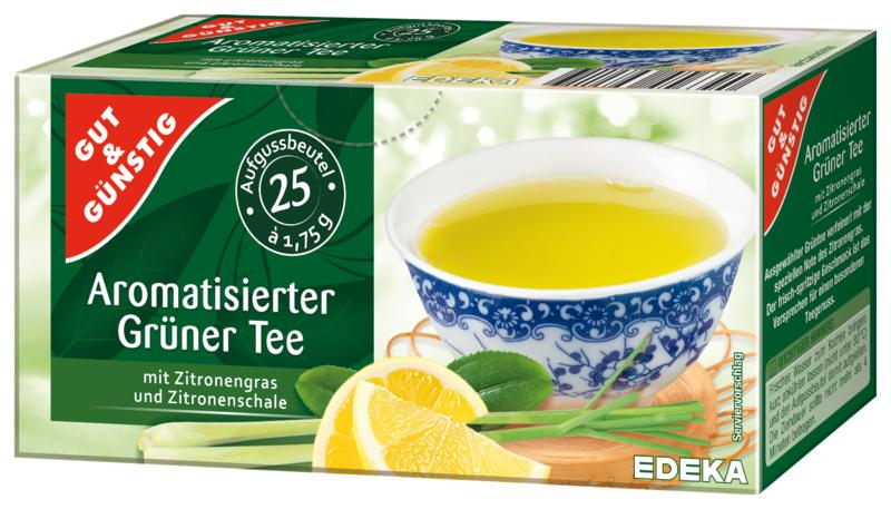 Grüner Tee Zitrone- Zelený čaj s citrónem 25.sáčku (Grüner Tee Zitrone- Zelený čaj s citrónem 25.sáčku)