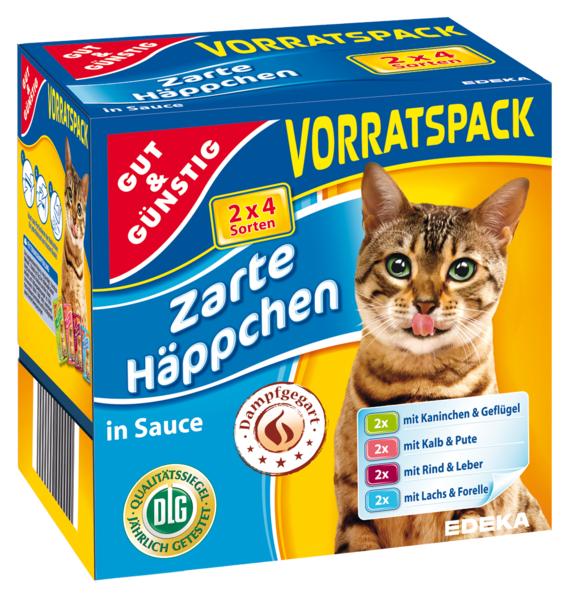 Kočičí kapsičky v omáčce 8x100g (Kočičí kapsičky v omáčce 8x100g)