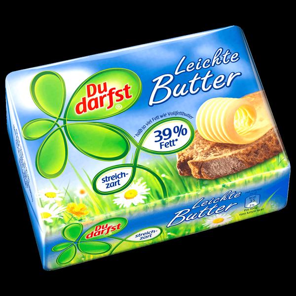 Máslo Leichte Butter 39%Tuku 250g