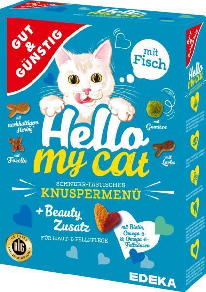 G&G Granule pro kočky s rybím masem 1000 g