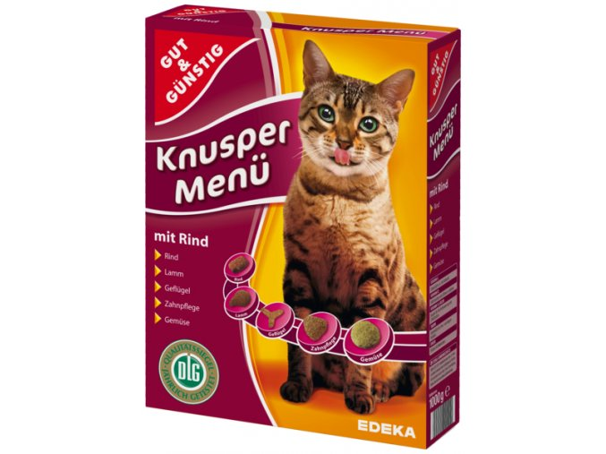 G&G Granule pro kočky s hovězím masem 1000 g (G&G Granule pro kočky s hovězím masem 1000 g)