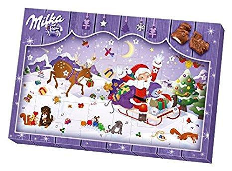 Adventní kalendář MILKA 200.g (Adventní kalendář MILKA 200.g)