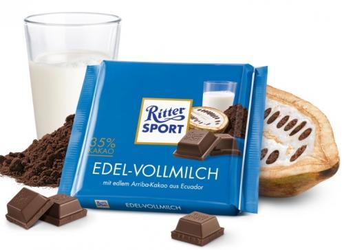 Ritter Sport Edel-Vollmilch 35% kakaa 100g