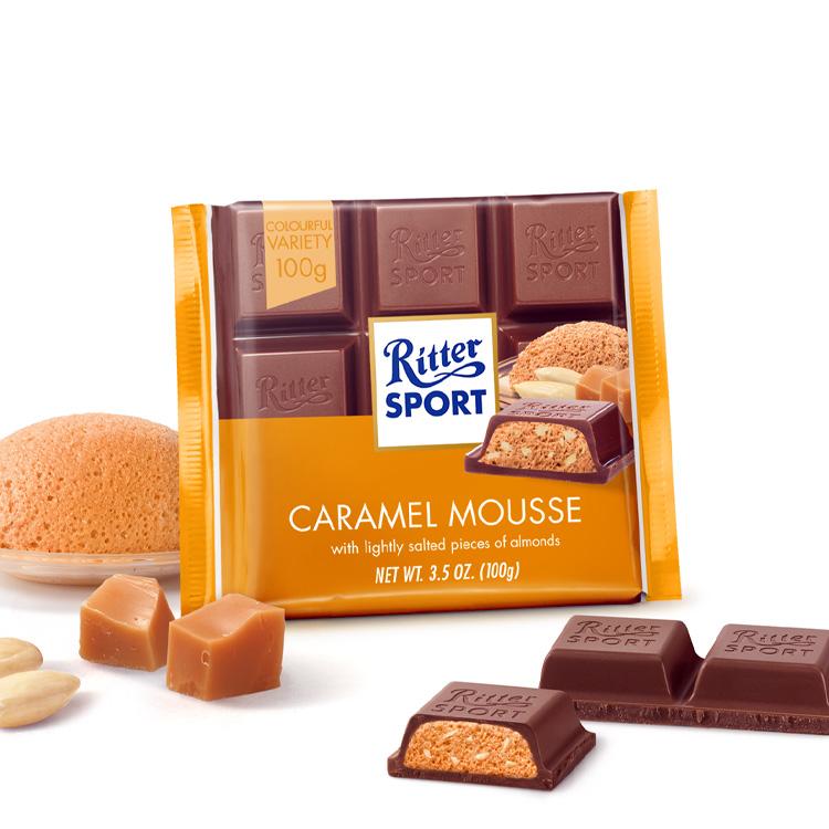 Ritter sport Karamell - mouse 100g