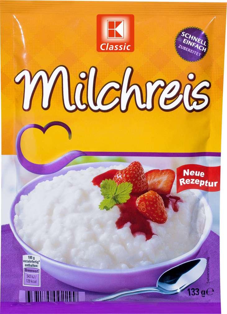 Mléčná rýže 133g 3-4 porce
