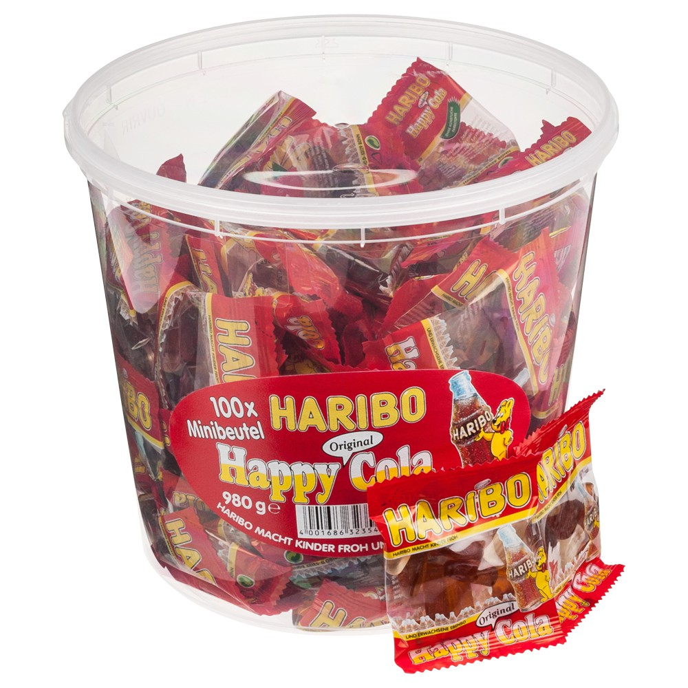 Haribo Happy Cola 100ks 980g