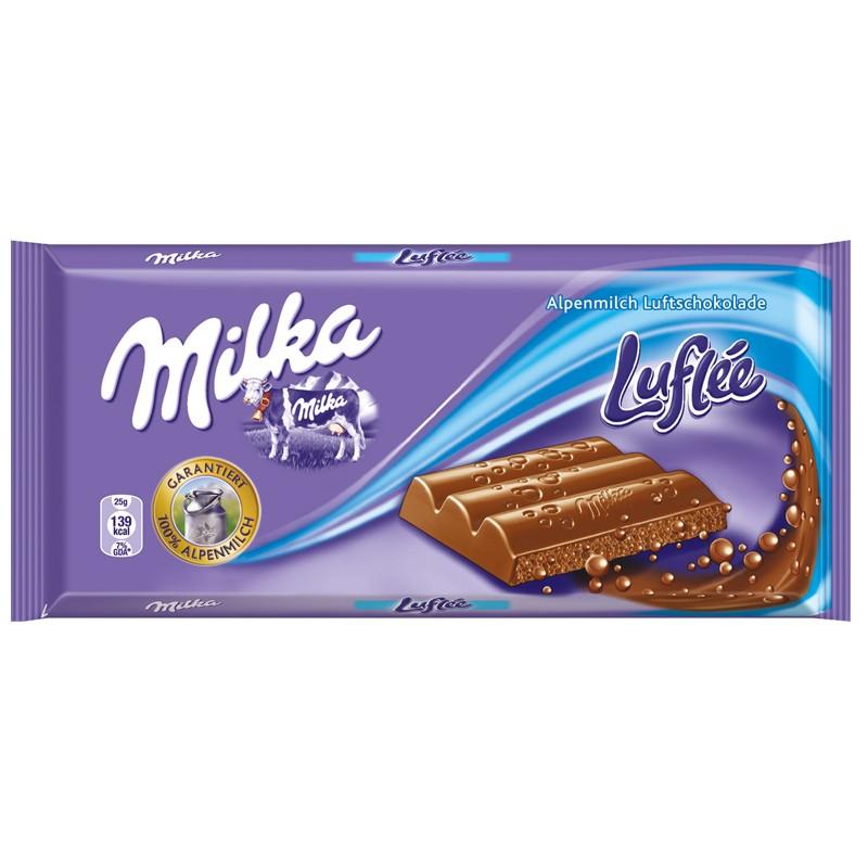 Milka Luflée 100g