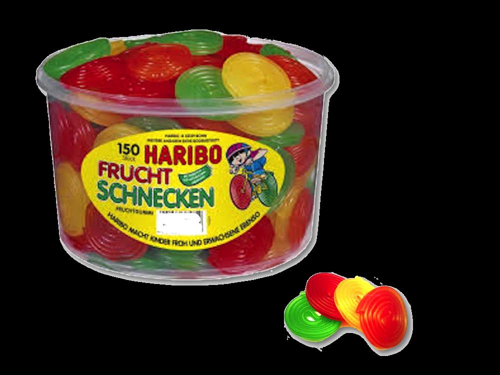 Haribo Dóza Frucht Schnecken 150ks