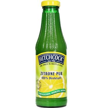 Hitchcock zitrone pur 100% 0,5l