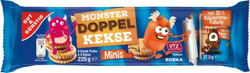Monster doppel kekse minis 225g